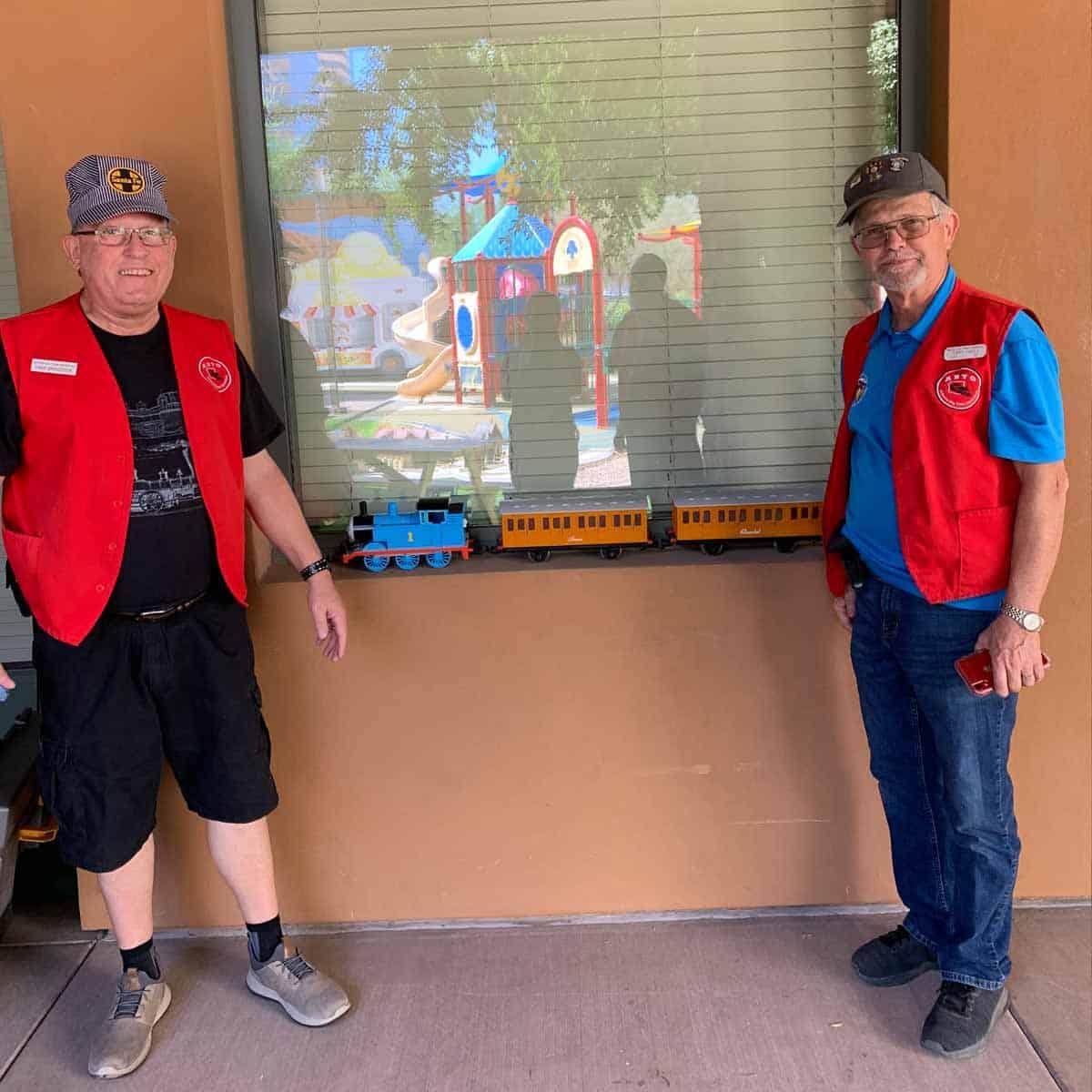 Event Spotlight:  Arizona Big Train Operators Track Maintenance